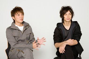 Photo of Hiroki Narimiya & his friend actor  Mizushima Hiro - Cast of Drop